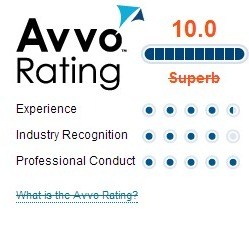 avvo rating david slepkow
